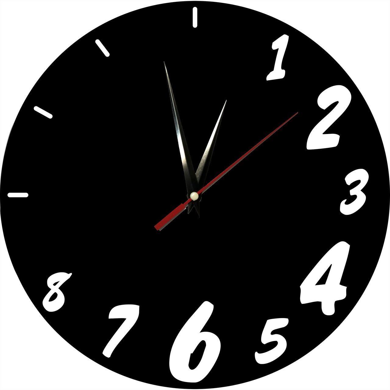 Черно белые картинки часов
