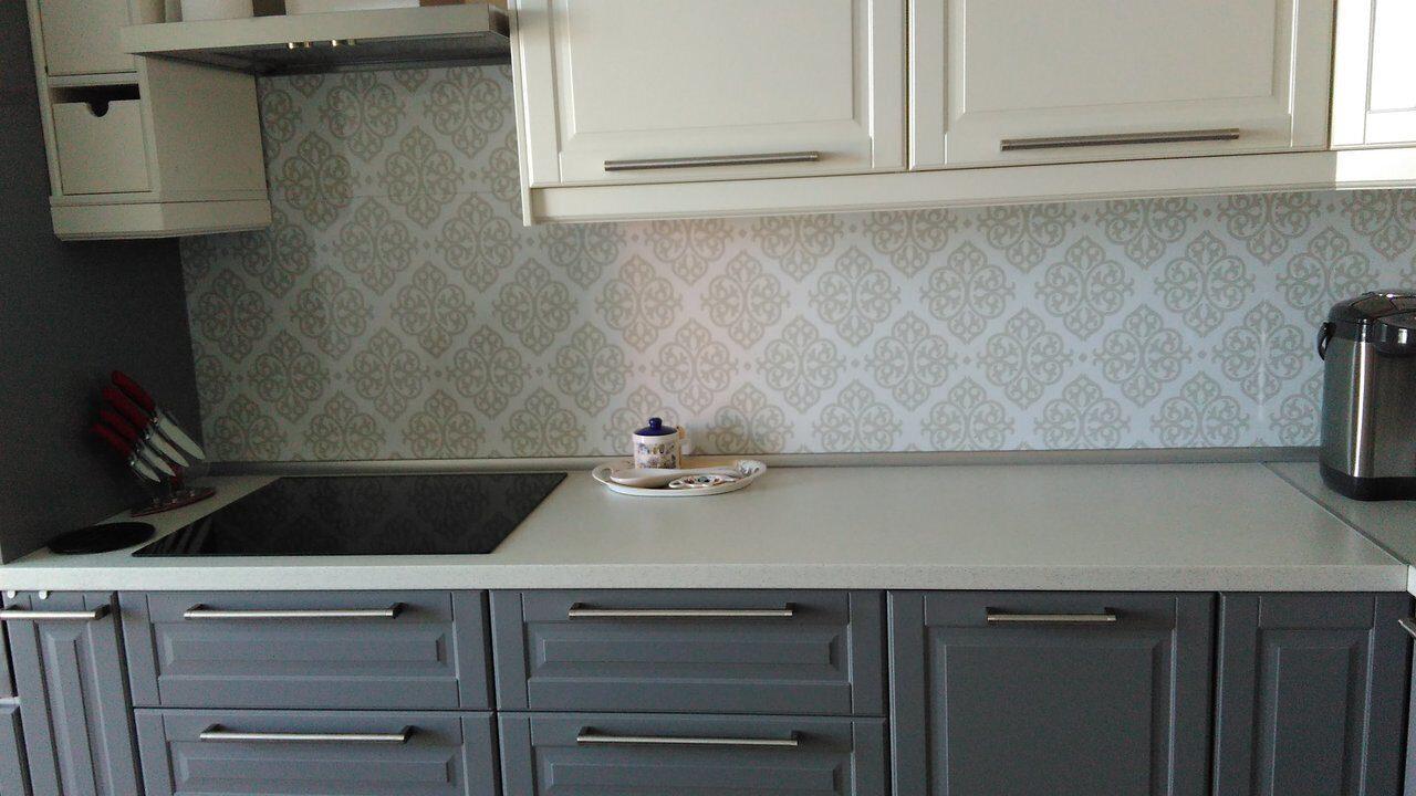 Фото фартуки для кухни вензеля