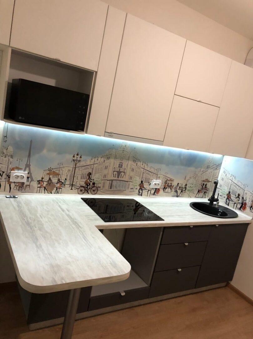 Кухонные фартуки из мдф картинки