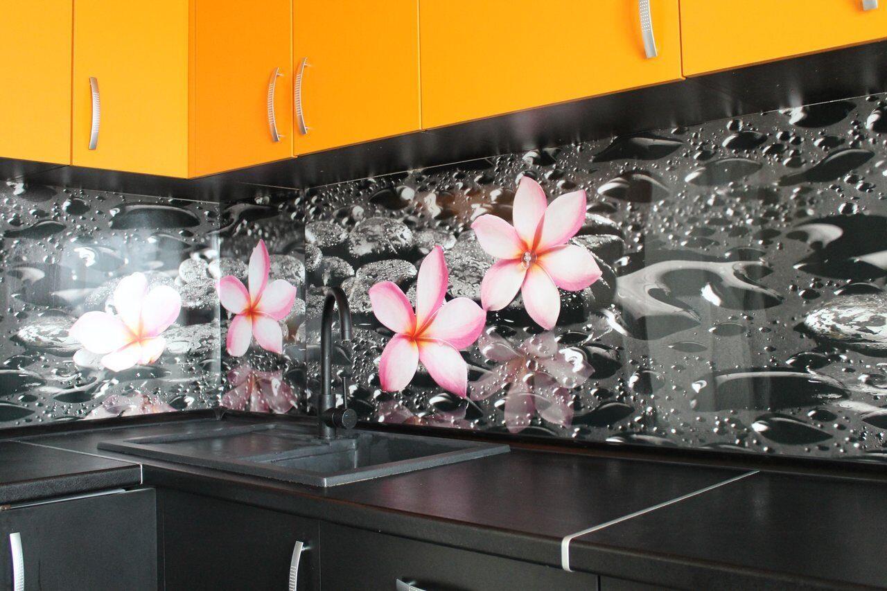 фартуки для кухни стекло с фотопечатью закат невероятно красивое